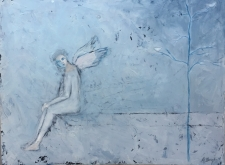 WHITE ANGEL 24x18